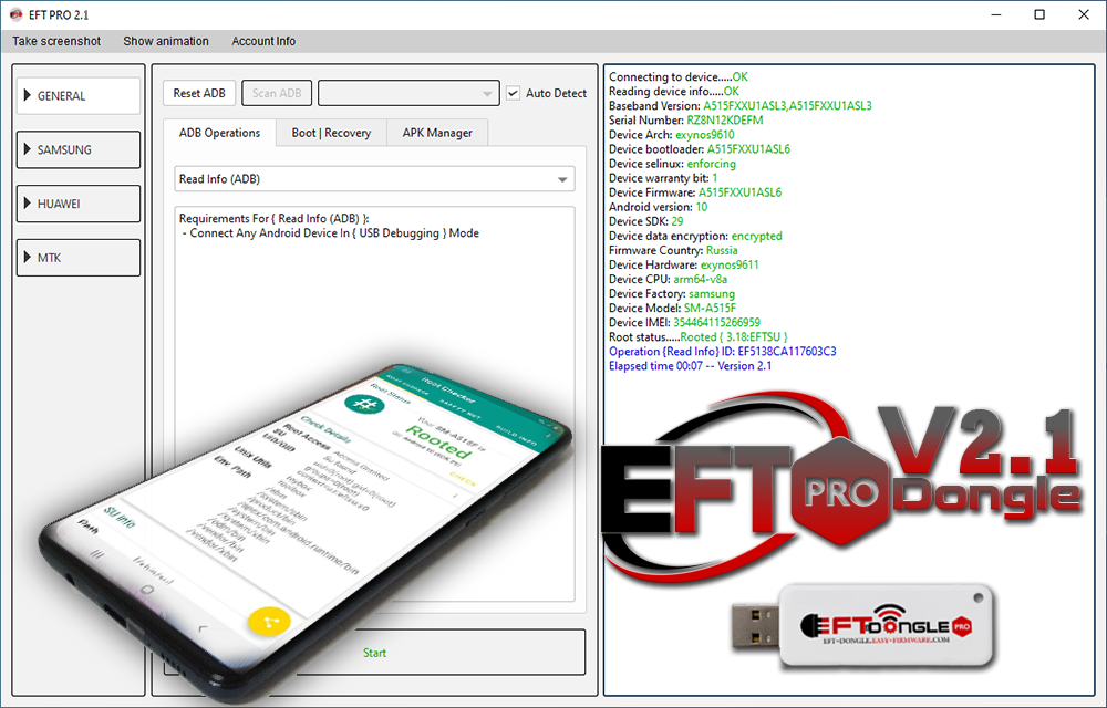 EFT PRO Dongle Update V2.1 EXCLUSIVE ROOT SOLUTION
