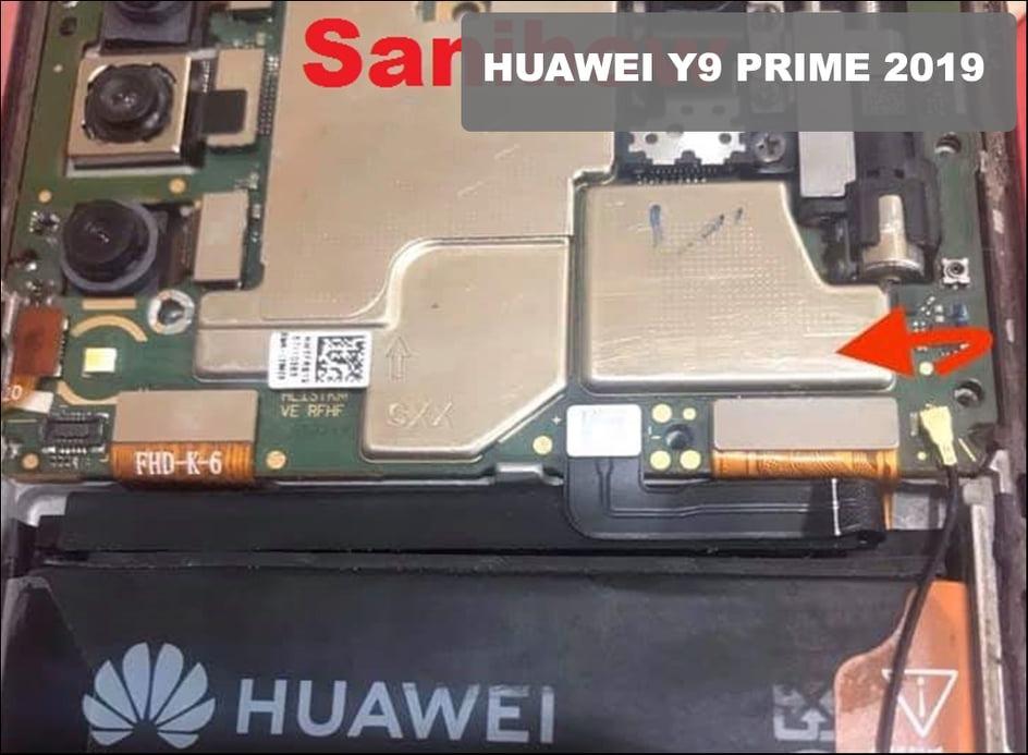 ازالة قفل FRP لجهاز Huawei Y9 Prime   STK-L21M الحمايه 366 بالتيست بوينت